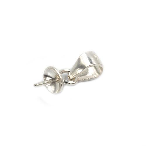 Stříbrný prívesok koule 10 mm s krystaly Crystals from Swarovski®, Turquise