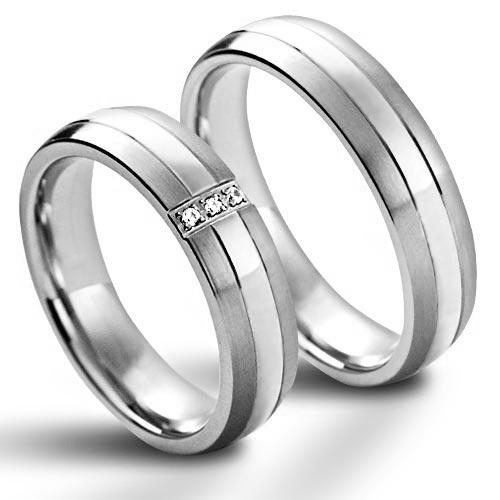 NSS1021 Dámsky snubný prsteň so zirkónmi
