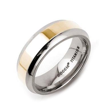 Titánový prsteň Boccia, veľ. 60