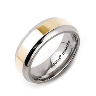 Titanový prsten Boccia, vel. 60