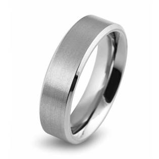 Matný titanový prsten BOCCIA® 0101-01