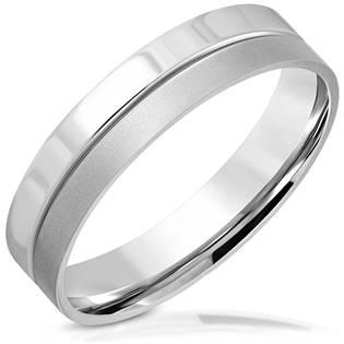 OPR1740 Ocelový prsten, vel. 57