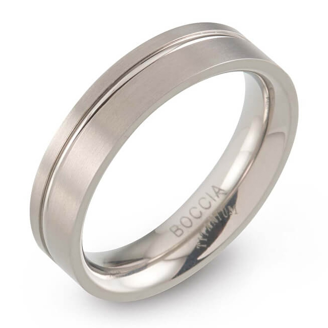 B0149-01 Dámsky titánový prsteň Boccia