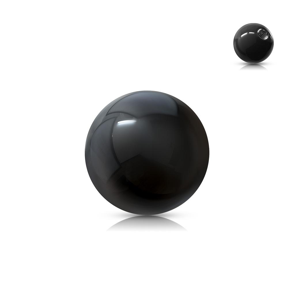 Náhradná gulička 1,2 mm, priemer 4 mm, farba čierna