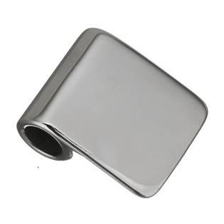 Ocelový přívěšek destička s otvorem