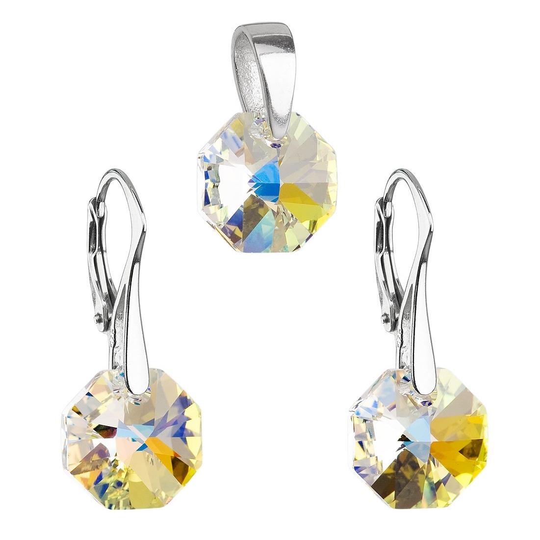 Sada šperků s kameny Crystals from Swarovski® AB EG3029-AB