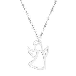 Stříbřený náhrdelník andělíček