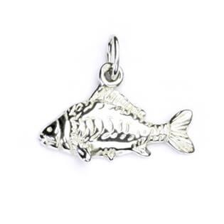 Stříbrný přívěšek ryba kapr