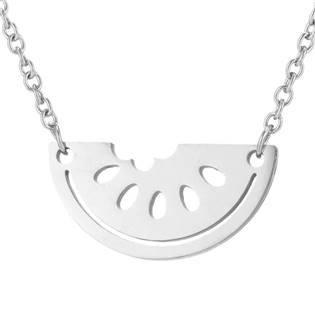 Ocelový náhrdelník - meloun