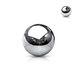 Piercing - náhradní kulička na závit 1,2 mm
