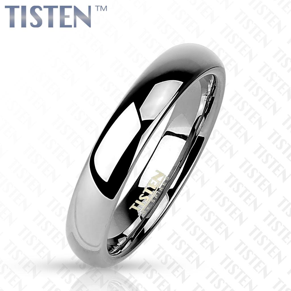 TIS0001 pánsky snubný prsteň tlačený 4 mm