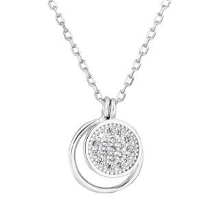 Stříbrný náhrdelník s kolečky