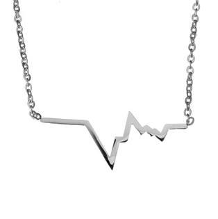 Ocelový náhrdelník HEARTBEAT