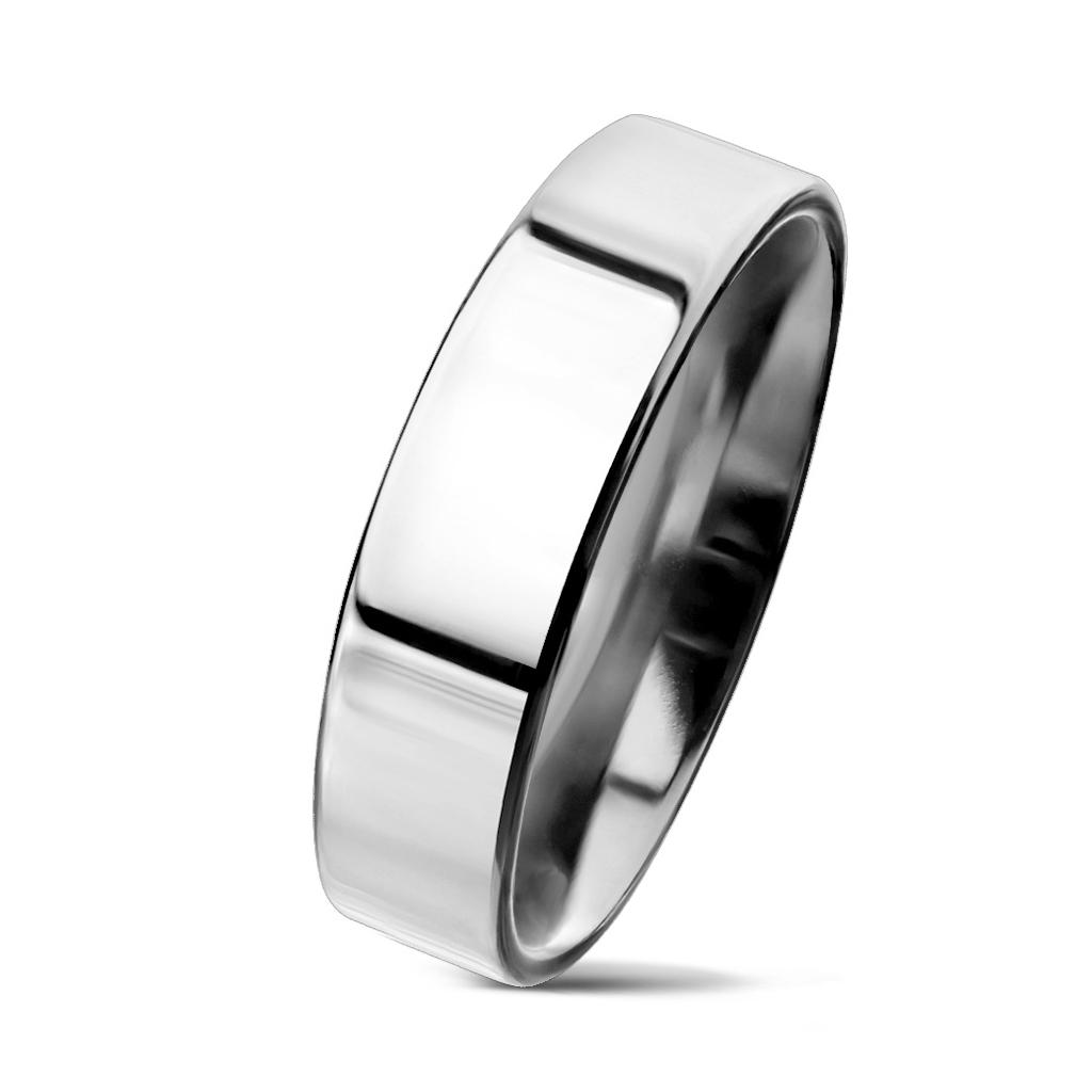 NSS3004 Pánsky snubný prsteň oceľ