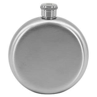 Ocelová kapesní lahev - placatka kulatá 150ml v dárkovém balení