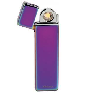 Plazmový zapalovač Lucca Di Maggio s USB úzký fialový
