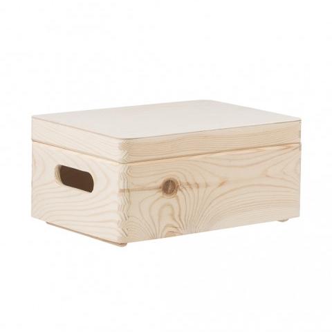 Drevený box s vekom