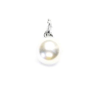Strieborný prívesok Swarovski perla 8 mm