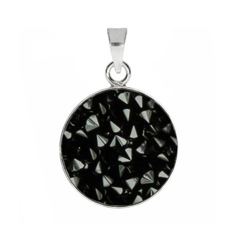 Prívesok Crystals from Swarovski ® 15mm, JET BLACK