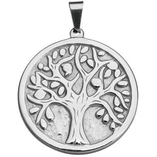 Ocelový přívěšek strom života