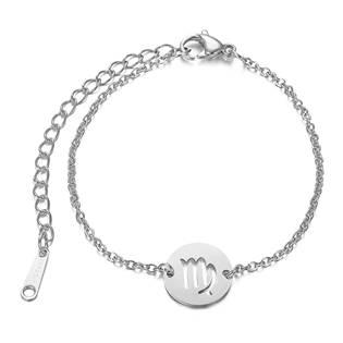 OPA1619-09 Dámský ocelový náramek - znamení panna
