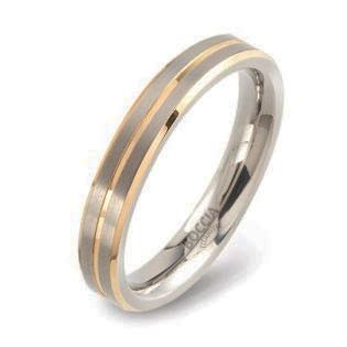 0148-02 Pánsky snubný prsteň BOCCIA®