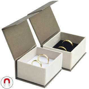 Dárková krabička na snubní prsteny magnetické zavírání
