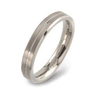 0148-01 Pánsky snubný prsteň BOCCIA®