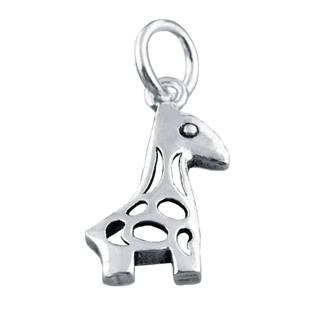 Stříbrný přívěšek žirafka malá