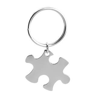 Šperky4U Ocelový přívěšek na klíče - puzzle - OPT1008-P