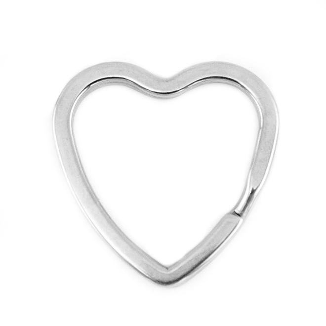 Kruh na klíče srdce 31 mm