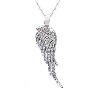 AL1008 Stříbrný náhrdelník - andělské křídlo