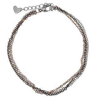 OPA1604 Trojitý dámský ocelový náramek