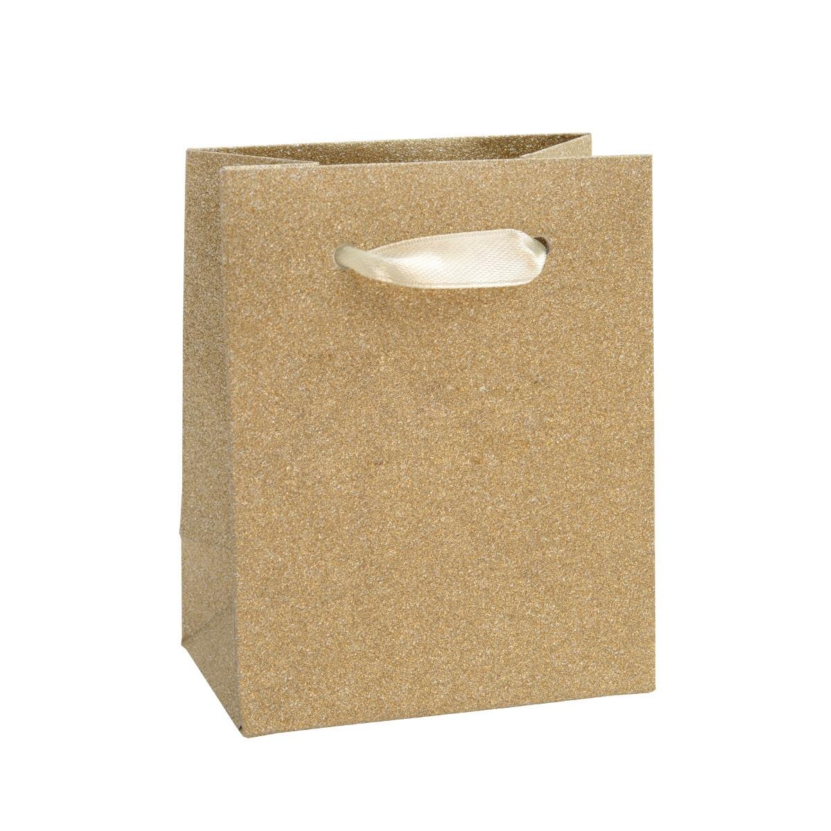 Malá dárková taška béžová