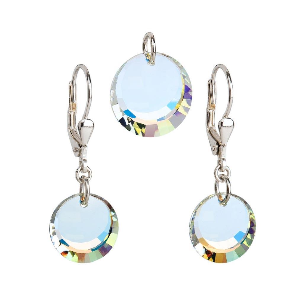 Sada šperků s kamínky Crystals from Swarovski® AB EG3028-AB