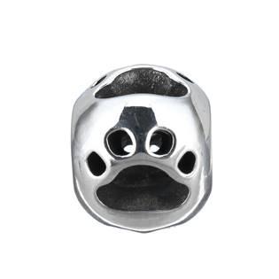 Šperky4U Navlékací ocelový přívěšek korálek - K0057