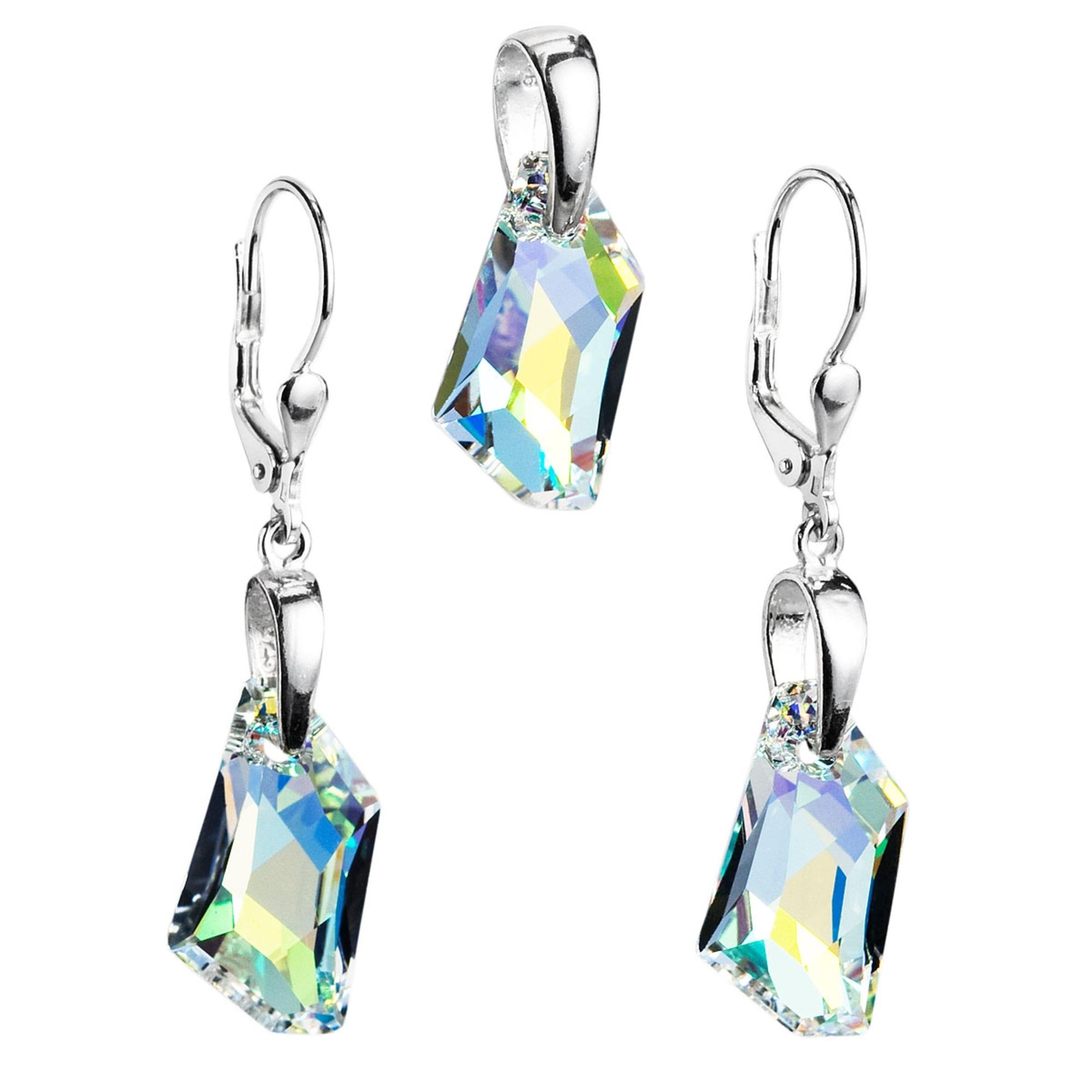 Sada šperků s kameny Crystals from Swarovski® AB EG3026-AB