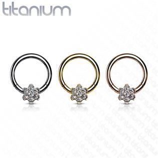 Segment kruh - septum piercing TITAN