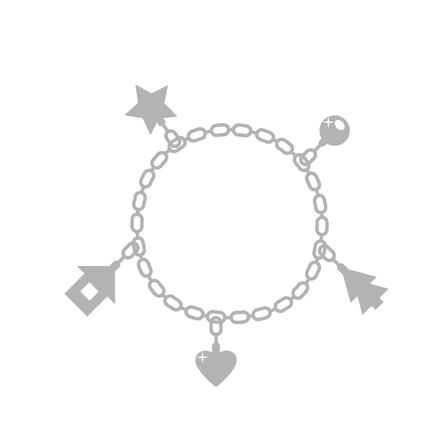 Dámský stříbrný náramek se zirkony NB-1044
