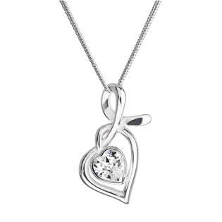 Stříbrný náhrdelník se Swarovski krystalem