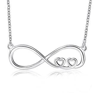 NB-2136 Stříbrný náhrdelník kenonečno