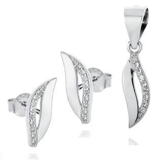 NB-9004 Stříbrná souprava šperků