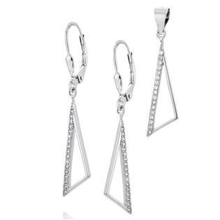 NB-9015 Stříbrná souprava šperků