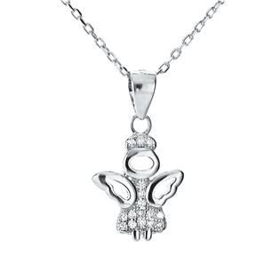 NB-2051 Stříbrný náhrdelník andílek
