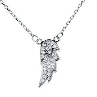 NB-2066 Stříbrný náhrdelník křídlo