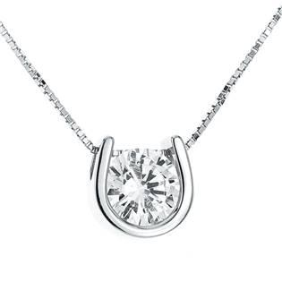 NB-2068 Stříbrný náhrdelník - zirkon