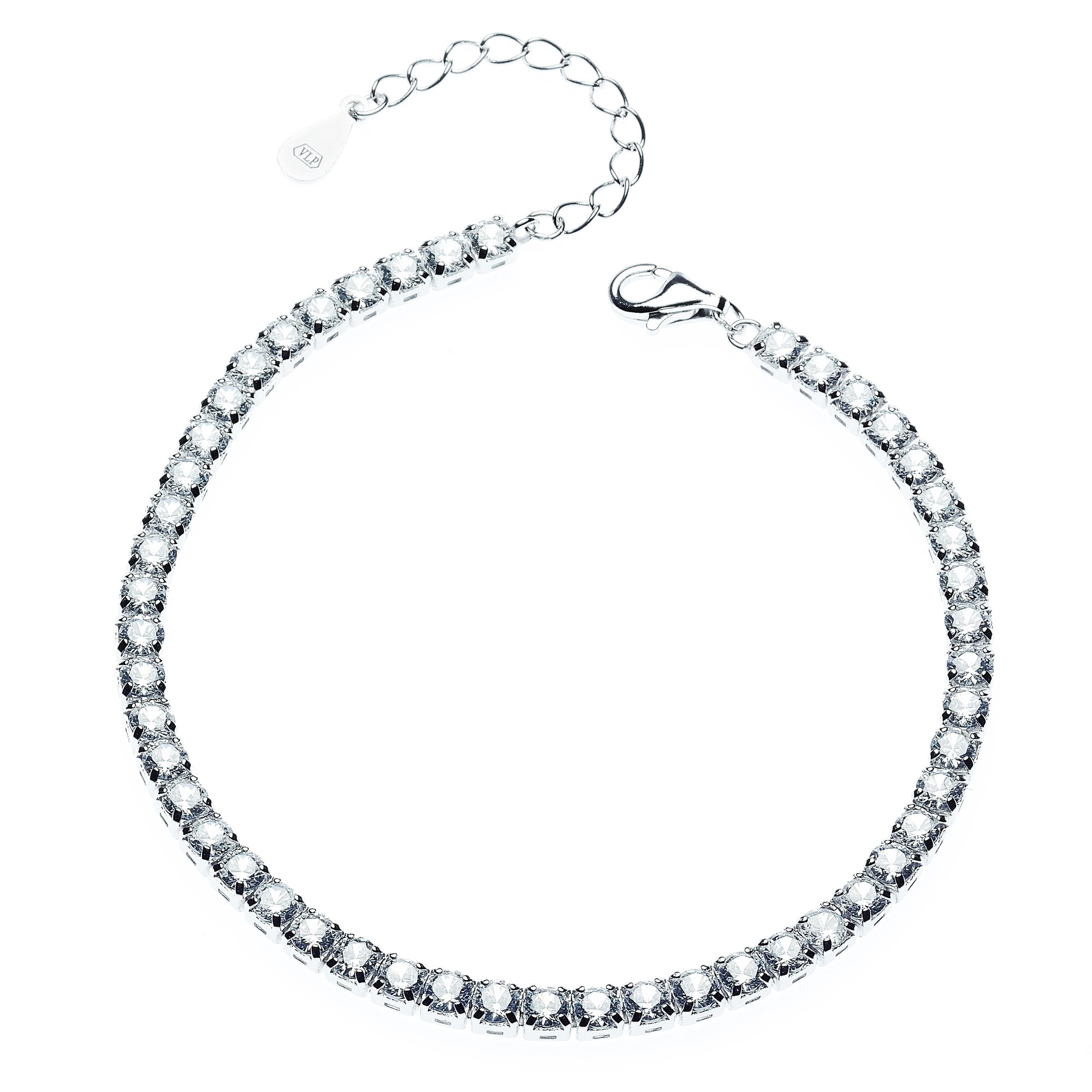 Dámský stříbrný náramek NB-1027