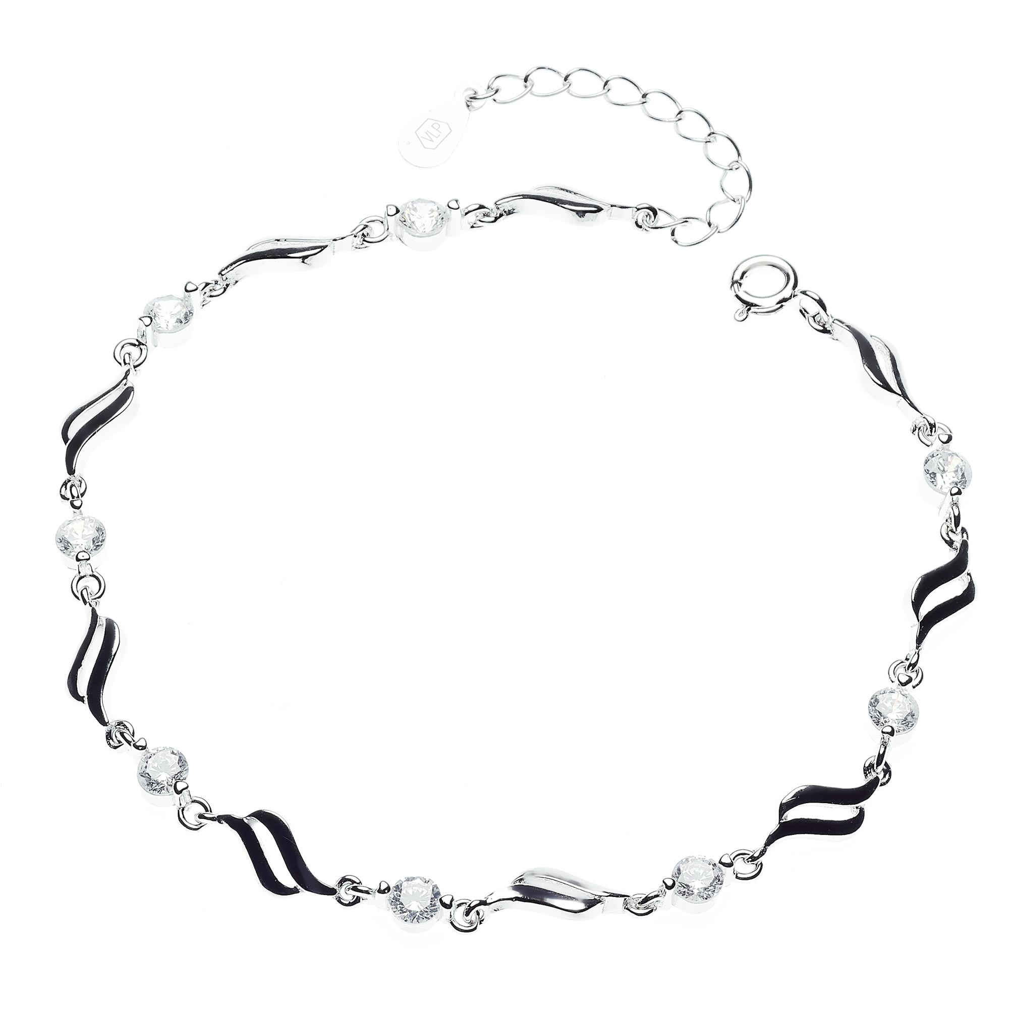 Dámský stříbrný náramek NB-1029