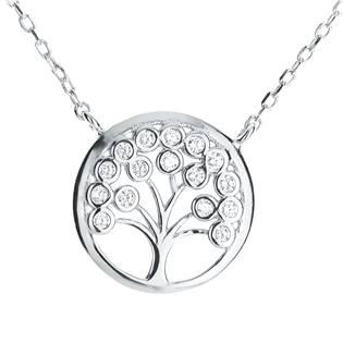 NB-2112 Střibrný náhrdelník strom života
