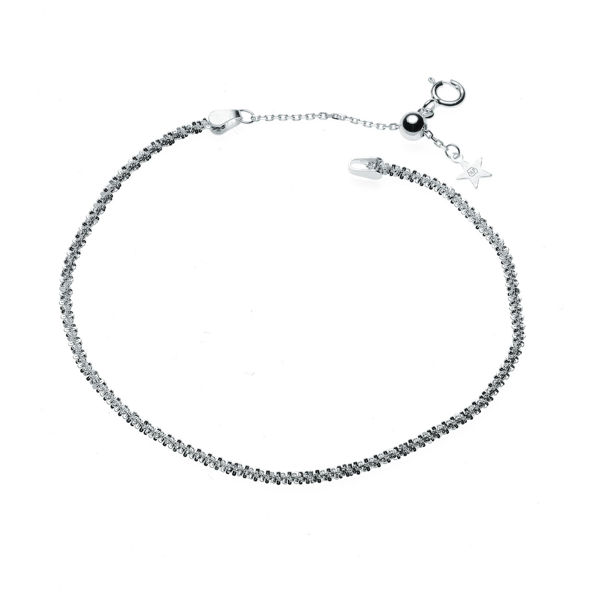 Dámský stříbrný náramek NB-1051